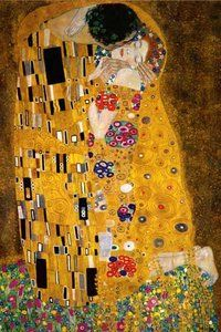 Gustav Klimt The Kiss (1000 Piece Puzzle by Eurographics)