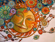 the blissful alignment by artmeister on Etsy