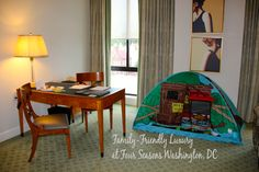 #FSFamily: A tent in our room for my son at the Four Seasons Washington, DC
