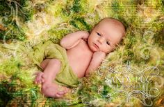 Happy St. Patrick's Day, Baby! For Newborn Photography: Blanket Photo Prop Hand Knit by BabyBirdz