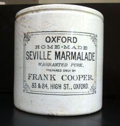 Victorian ceramic marmalade jar.  c Ros Badger