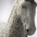 Hedonism(y) Trojaner, A Horse Sculpture Made of Computer Keys