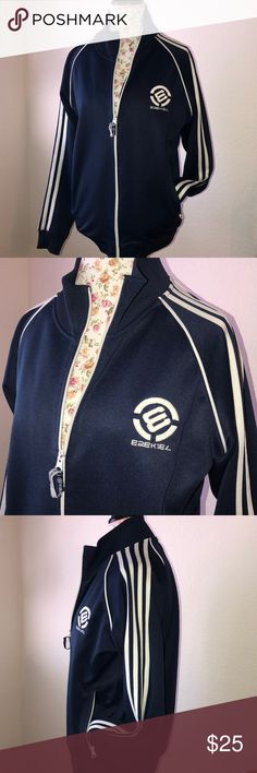 EZEKIEL Track Jacket (Vintage) Old School Ezekiel Track Jacket. Preloved. This was my go to Jacket for almost everything! Kid drop offs, grocery runs, Doctors visits you name it! Went great with everything! Offers welcomed! Measurements upon request. Says small but I'm a women's large and it fit perfectly. Ezekiel Jackets & Coats