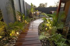 boardwalk landscaping ideas - Google Search