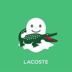 Lacoste cache des crocodiles sur Snapchat #lacoste #snapchat