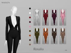 Sims 4 Mods Clothes, Sims 4 Clothing, Sims New, My Sims, Sims 4 Cas Mods, Sims 4 Traits, Muebles Sims 4 Cc, Sims 4 Collections, Sims 4 Dresses