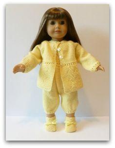 A004-Doll Knitting Pattern