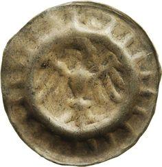 Hohlpfennig Friedrich <II., Brandenburg, Kurfürst> (1413-1471)|Münzherr Brandenburg, o.J. (ca. 1440-1462) Münzkabinett Material and Technique Silber, geprägt Measurement 16,2 mm; 0,35 g