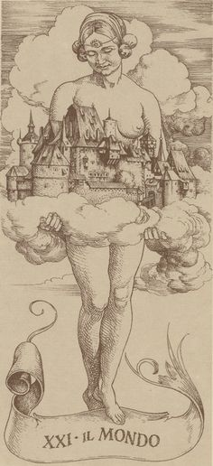 The World from the Tarocchi Durer