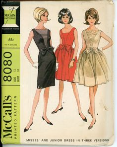 McCall's 8080 | Vintage Sewing Patterns | Fandom powered by Wikia