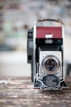 Polaroid Bellows Vintage Camera