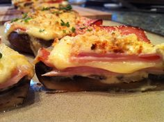 Portabella Cordon Bleu From PLLC. These look and taste gourmet, it's so nice to have that variety on low carb.