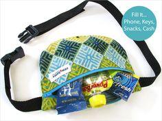 Mini Waist Pack   Sew4Home