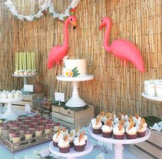 Retro Luau Summer Party Ideas | Photo 1 of 13 | Catch My Party