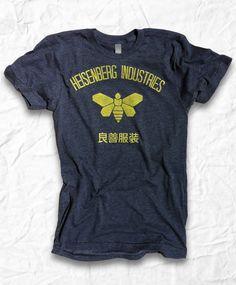 phenylacetic acid breaking bad bee t shirt heisenberg industries goodness
