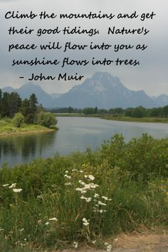 John Muir, a one of the first environmentalist.