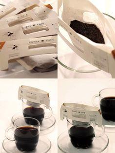café de filtro individual