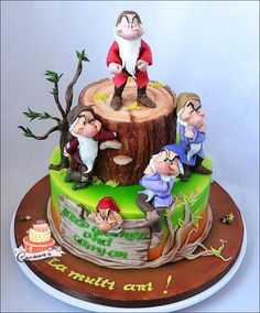Grumpy dwarf - Cake by Carmen Iordache