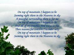 When On The Mountain Top 1 © Copyright Ethel GG Kent