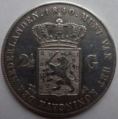 Currently at the Catawiki auctions: The Netherlands - 2½ guilder 1840 Willem I