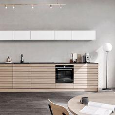 Light Oak, Home Signs, Wooden Kitchens, Modern, Table, Furniture, Interiors, Dreams, Design