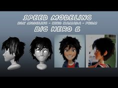 Box modeling Hiro Hamada - Big Hero 6 (Autodesk Maya) -  Music Videos Watch Online