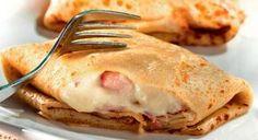 Nul besoin d'être un chef pour préparer ces délicieuses crêpes au jambon et au comté. À vos fourneaux !