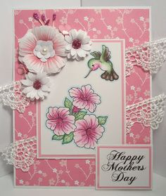 Scrappy Sweet Creations: Mother's Day Hummingbird.  $4.25