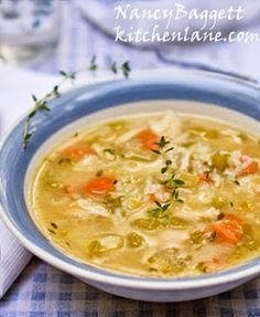 Homemade Chicken Soup–Good for the Body and the Soul