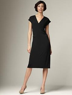 Black Dress, Talbots.