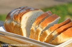 Simple Farmstead Cooking: Buttermilk Honey Bread