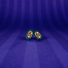 Final Fantasy VI Tiny Magicite Earrings by SweetWhatevers on Etsy, $7.00