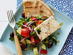 Greek Salad Recipe : Rachael Ray : Food Network - FoodNetwork.com