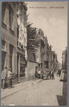 1918ca. Jodenhouttuinen in de Amsterdamse jodenbuurt
