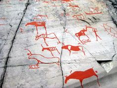 Rock Art from Alta, Norway Photo: Ingwii, Flickr