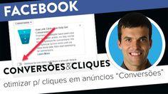 """Uma opção dos anúncios de """"Conversões"""" permite otimizar para cliques temporariamente até o Facebook ter dados suficientes para otimizar para conversões. http://joaoalexandre.com/conversoes-cliques-opcao-facebook/"""