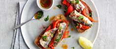 This 10-minute sardines and pepper on toast recipe is a really quick and easy idea for a midweek meal