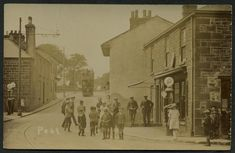 Fore Street, Pool, c.1925  Real photographic - publisher not stated (not numbered)