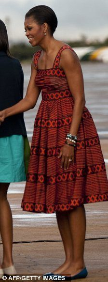 Michelle Obama makes amends with Diane Von Furstenberg by wearing designer's…