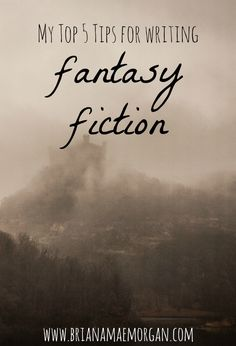 Guest Post: My Top 5 Tips for Writing Fantasy Fiction