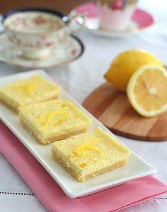 Low Carb Lemon Cheesecake Bars (S)