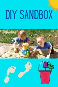 Fun Activities For Kids, Sensory Activities, Simple Diy, Easy Diy, Kids Sandbox, Bored Jar, Boredom Busters For Kids, Sensory Processing Disorder, Toddler Play