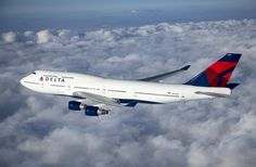 The other day we were reminded that Delta will retire their Boeing 747 planes in the near future. These planes will be replaced by Airbus in the near future 747 Jumbo Jet, Delta Flight, Delta Plane, Airline Reservations, Best Airlines, Alaska Airlines, Cargo Airlines, Boeing 777, Boeing Aircraft