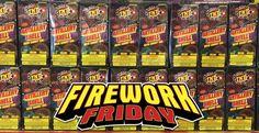 Firework Friday has arrived!  Which TNT Fireworks do you enjoy the most?  #FireworkFriday #TNTFireworks #ArtilleryShell #Fireworks