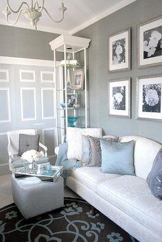 Gray & blue