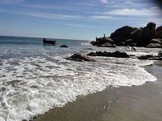 Marquelia, en la costa chica de Guerrero... Aquí uno puedo conseguir ostiones recién sacados del mar