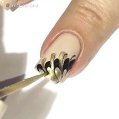 Nail DIY tutorial. By @sveta_sanders Music: Bel Suomo