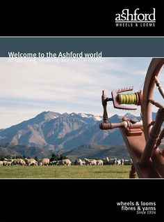 Based in Ashburton, New Zealand, Ashford Handicrafts are the world's leading manufacturers of Spinning Wheels, Weaving Looms and other textile equipment and supplies.