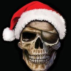xmas skull