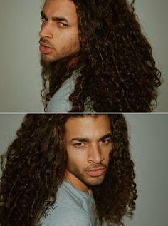 I love his big hair!